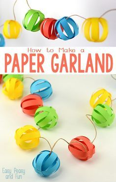 49 ideas diy paper banner bunting tutorial for 2019 Christmas Crafts For Kids, Christmas Balls, Holiday Crafts, Christmas Diy, Christmas Crafs, Diy Paper, Paper Crafts, Diy Crafts, Classroom Art Projects