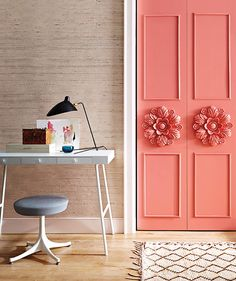 Learn how to add architectural detail to bilfold doors inspired by Paris apartments. Get step-by-step instructions to make ornate door moldings.