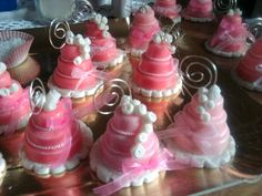 Mini wedding cakes pasta di mais