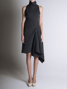 Perfect with a blaser FORME D'EXPRESSION, SLEEVELESS DRESS AW13: