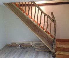 driftwood stair railing - Google Search