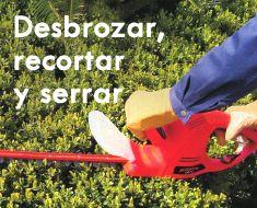 Motosierras, desbrozadoras, podadoras... toda la maquinaria que necesitas para mantener tu jardín siempre listo, podrás encontrarla en Feruelte. ¡Visita nuestra tienda online! http://www.feruelte.es/19801-desbrozar-recortar-y-serrar