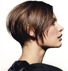 Short Hair Styles - good transition for growing it out.