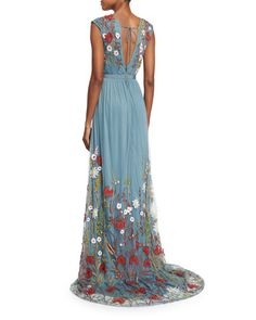 Alice + Olivia embroidered gown, $1298