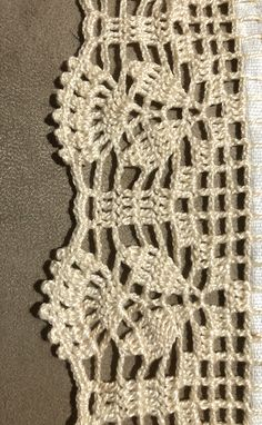 Zig Zag Crochet, Crochet Boarders, Crochet Edging Patterns, Crochet Chart, Crochet Trim, Filet Crochet, Crochet Lace, Crochet Bedspread, Crochet Curtains