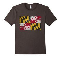 Men's Maryland State Vintage Flag T-Shirt Small Asphalt L... https://www.amazon.com/dp/B01NBGZ1N8/ref=cm_sw_r_pi_dp_x_C9UAyb5MHG6ZF #Maryland #state #flag #Marylandflag
