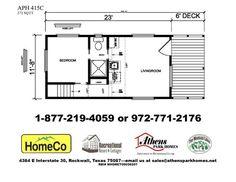Athens Park Homes Model 415