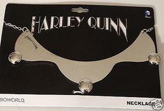 Harley Quinn Batman Dc Comics Collar Necklace Nwt