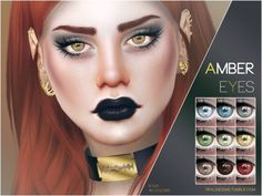 Amber Eyes N104 by Pralinesims at TSR • Sims 4 Updates