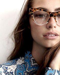 5cd6033c0c8 Tortoise and Clear Miu Miu Cat Eye Glasses