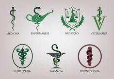 Símbolos da área da saúde - Poésie Joias