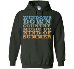 Windows Down, Country Music Up Kind of Summer T-shirt T-Shirt