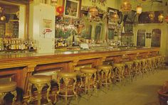 Interior of the Bucket of Blood Saloon in Virginia City, Nevada