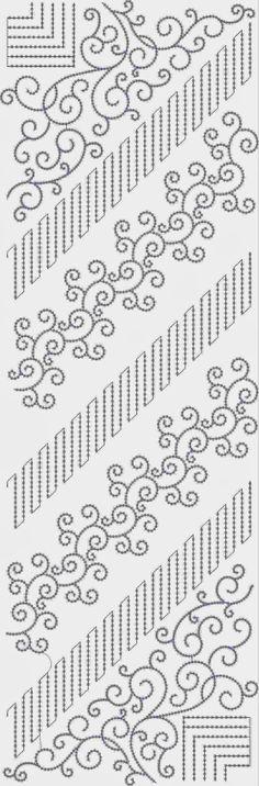 Een kleur Oral patroon
