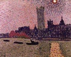 'Westminster', öl auf leinwand von André Derain (1880-1954, France)