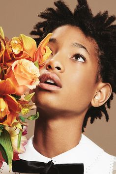 Willow Smith for Stance Socks.