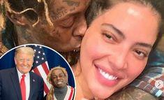 "Lil Wayne's Model Girlfriend, Denise Bidot ""Dumps Him Over His Endorsement Of Donald Trump For U.S. President"" Lil Wayne Girlfriend, Black Economic Empowerment, Rapper 50 Cent, Delete Instagram, Single Again, American Rappers, National Convention, Criminal Justice, S Models"