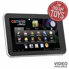 Kohls for Christmas: Vivitar Camelio Android Family Tablet Toddler Boy Toys, Toys For Boys, Camera Apps, New Tablets, Sports App, Sewing For Kids, Holiday Gift Guide, Android Apps, Free Android