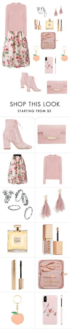 """""""🎿🏆🎿"""" by zeynnep ❤ liked on Polyvore featuring Laurence Dacade, AERIN, Dolce&Gabbana, MaxMara, Lizzie Fortunato, Stila and Ted Baker"""