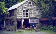 Barn exterior - Rustic Homestead, in Upstate New York, United States