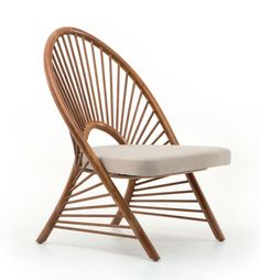 Wooden Lounge Chair with modern mid-centry look - the perfect addition for your reading corner. Ercol Dining Chairs, Windsor Chairs, Outdoor Chairs, Outdoor Furniture, Outdoor Lounge, Wood Furniture, Decorative Room Dividers, Couch And Loveseat, Classic Living Room