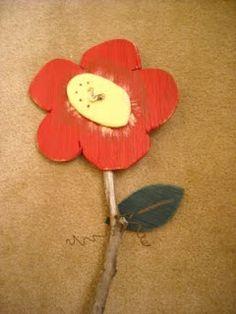 Wooden Garden Flowers
