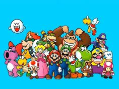 Think you know everything about Mario? Check out our collection of random Mario trivia and you'll probably learn a thing or two about the world's favorite Super Mario Bros, Super Mario Kunst, Super Mario Brothers, Super Smash Bros, Mario Kart, Mario And Luigi, Mario And Princess Peach, Nintendo Characters, Sonic