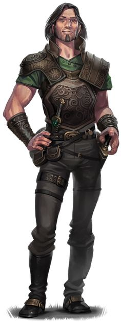 This is the closest approximation to my idea of Copper I have found yet. He'd have darker skin, though. And a rapier.