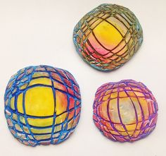 """OPTICAL BEADS"", polymer clay | by Cecilia Leonini, Polymer clay ImpastArte"