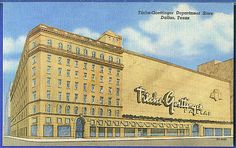old postcard Titches building in downtown Dallas TX | Flickr ...