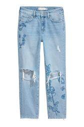 Straight Regular Ankle Jeans