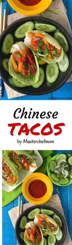MASTERCHEFMOM: Chinese Tacos (Salad Taco with Hot and Sweet Vegetables ) Fusion Recipe | Gluten Free and Vegan Recipe | How to make Tacos at Home | Stepwise Pictures | Quick and Easy Recipe