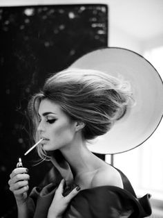 Contouring Brilliance Big Hair, Glamour, Editorial Fashion, Smoke, Black  And White Photography 7786dc70aa5