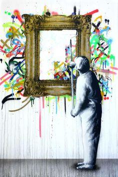 Mirror mirror on the wall...Artist Matin Watson