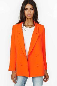 Line & Dot Till The Sun Blazer   Shop Jackets + Coats at Nasty Gal
