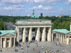 The Brandenburg Gate (Brandenburger Tor) is a former city gate, rebuilt in the late 18th century as a neoclassical triumphal arch, and now one of the most well-known landmarks of Berlin and Germany. It is the only remaining gate of a series through which Berlin was once entered. The gate is the monumental entry to Unter den Linden, the renowned boulevard of linden trees which formerly led directly to the city palace of the Prussian monarchs. #Berlin #BrandenburgGate #UnterDenLinden