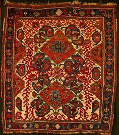 Afshar rug, 1.28 X 1.47m. 1st half, 19th century.