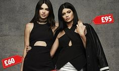 Kendall and Kylie Jenner model their latest fashion range for Topshop | Daily Mail Online