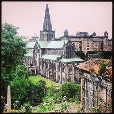 Glasgow Cathedral in Glasgow, Glasgow City