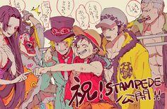 """ば on Twitter: """"今更という感じですが「ONE PIECE STAMPEDE」公開おめでとうございます!全人類とは言わないけどワンピ好きな人全員に観て欲しい映画です…共闘メンバーがあまりにもかわいい… """" One Piece Meme, One Piece Comic, One Piece 1, One Piece Fanart, One Piece Luffy, One Piece Images, One Piece Pictures, Anime Couples Manga, Cute Anime Couples"""