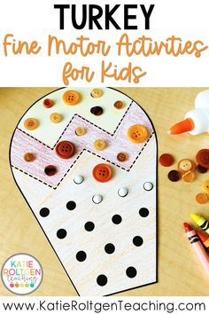 If you are anything like me, I am always looking for fun, seasonal, and low-prep fine motor activities for my primary classroom! These 11 turkey-themed fine motor activities are perfect for morning work, centers, or small groups in your primary classroom! Your primary students will love getting to cut, trace, and decorate colorful turkeys while practicing foundational math and literacy skills. These Thanksgiving fine motor activities also help to develop important pre-writing skills.
