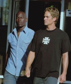 2 Fast 2 Furious: Tyrese Gibson (Roman Pearce), Paul Walker (Brian O'Conner)