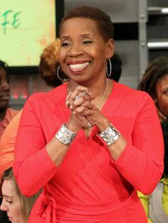 Iyanla... such a spiritual, beautiful soul. Would do anything to meet her.