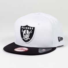 Casquette New Era 9FIFTY snapback Two Color Team NFL Oakland Raiders White   http://touchdownshop.fr/9fifty-snapback/173-casquette-new-era-9fifty-snapback-two-color-team-nfl-oakland-raiders-white.html