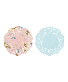 Look at this #zulilyfind! Frills & Frosting Mini Doily - Set of 300 by Talking Tables #zulilyfinds
