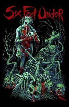 Six Feet Under (рус. На глубине шести футов, в переносном смысле «похороненный») — американская метал-группа, играющая в стиле «грув-дэт-метал». Поначалу имела статус стороннего проекта вокалиста Криса Барнса из Cannibal Corpse и гитариста Аллена Веста из Obituary