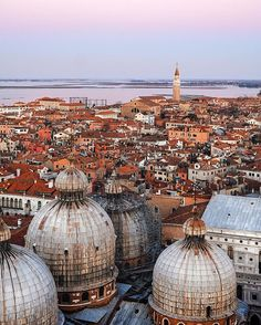 """marco gaggio """"Once upon the time on the bell tower of San Marco ✨ . Postcards From Italy, Paris Skyline, Taj Mahal, Tower, San, Instagram Posts, Travel, Viajes, Computer Case"""