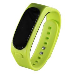 Original Waterproof Smart Bracelet Bluetooth Touch Screen Fitness Tracker Bracelet Health Support Music Play For Men Women Outdoor Sports (Green). Specification Screen :0.91 inch OLED Product Material: wristbands: TPU, wrist arrange ushering: PC + ABS. The headset: PC + ABS Battery and charging:100 mah battery, 5 v dc charging, general use Micro USB Bluetooth: Version 4.1 HFP HSP A2DP AVRCP Standby time:72 hours after about 1.5 hours charging Support Mobilephones:All the mobile phones…