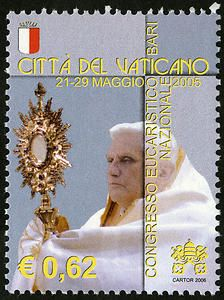 62c Pope Benedict XVI single