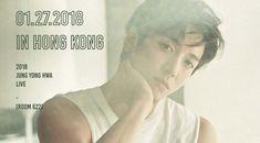 Yonghwa do CNBLUE revela pôster para o seu concerto solo 'Room 622'